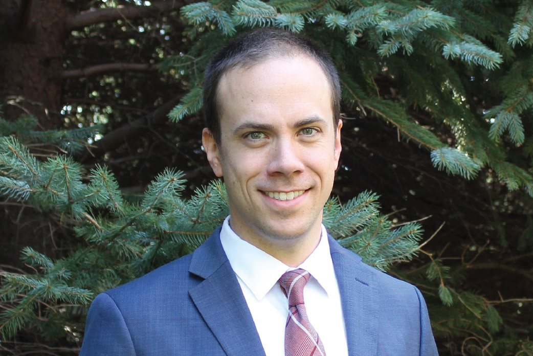 Chris Slocombe, Assistant Director of Admissions