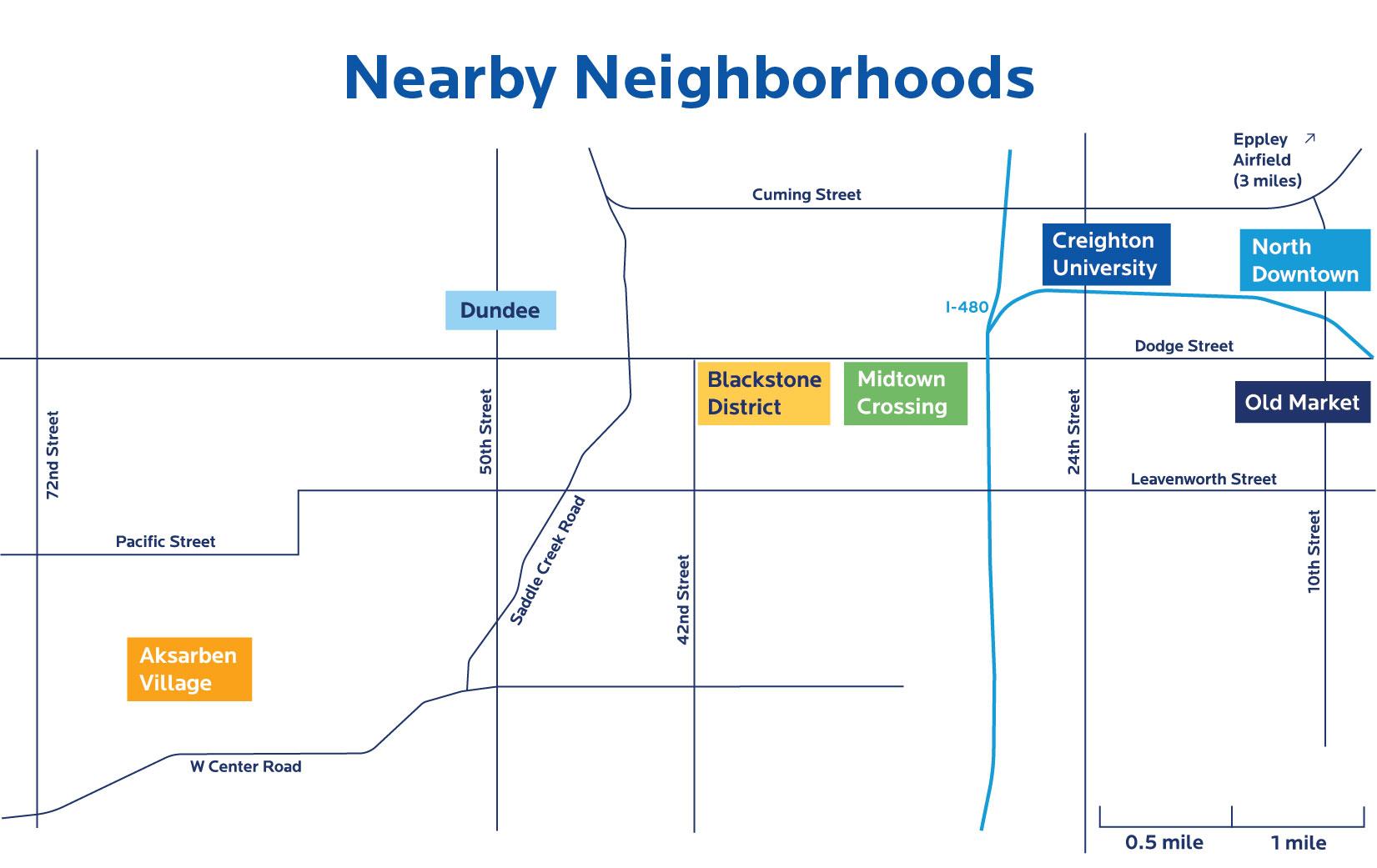 Nearby Neighborhood Map