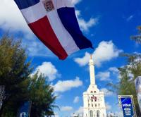 Dominican Republic and flag